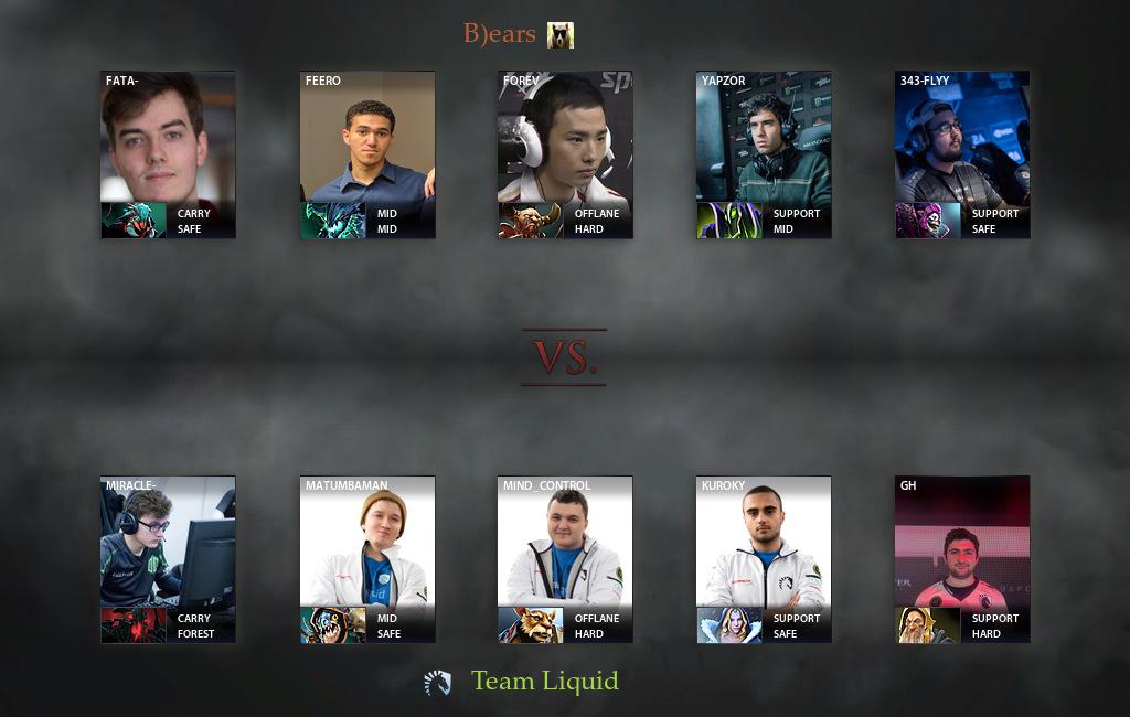 bears vs liquid match 09 02 2017 on dac 2017 dota 2
