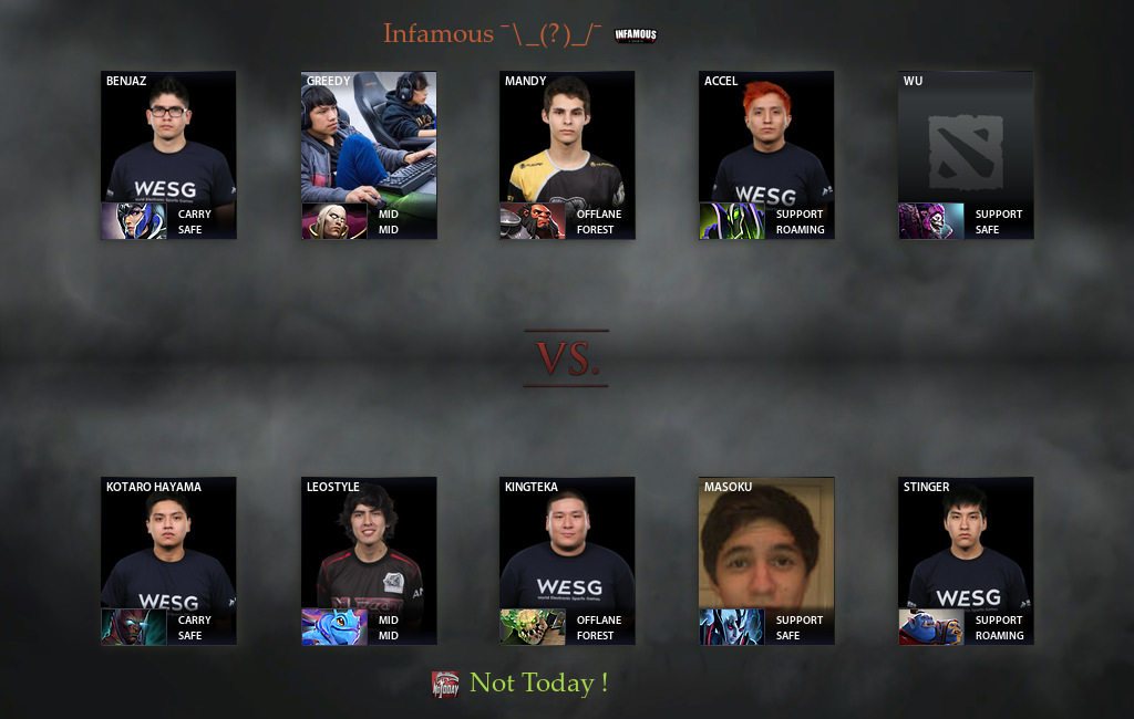 nt vs infamous match 11 03 2017 on the kiev major dota 2